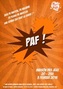 Affiche Paf web